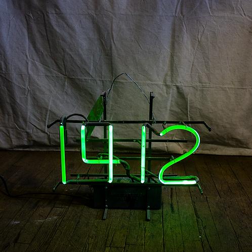 1412 Neon Sign