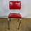 Thumbnail: Red Classic Diner Chair