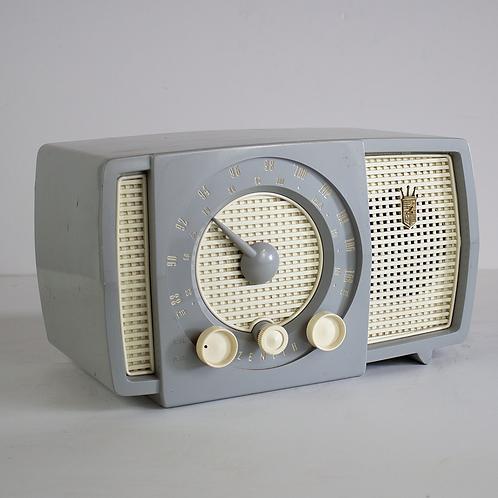 Grey Zenith Tabletop Radio 1950s