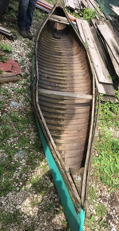 Turquoise Canoe