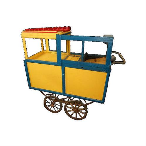 1940s Hot Dog Vending Cart