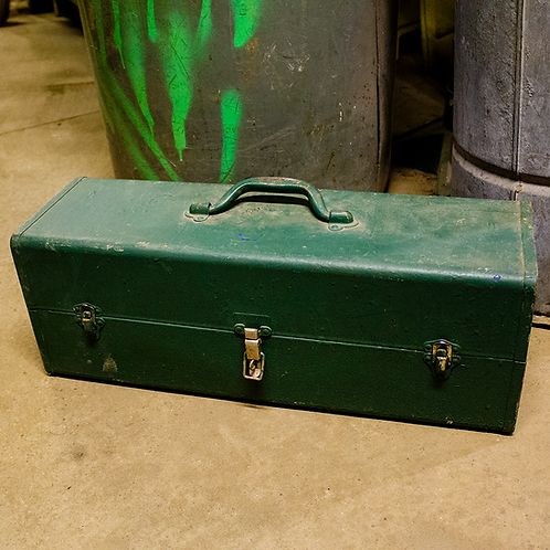 Long Green Tool Case