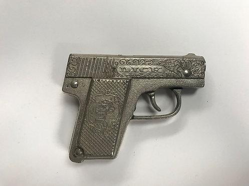 "Ornate Silver ""Dick"" Pocket Pistol"