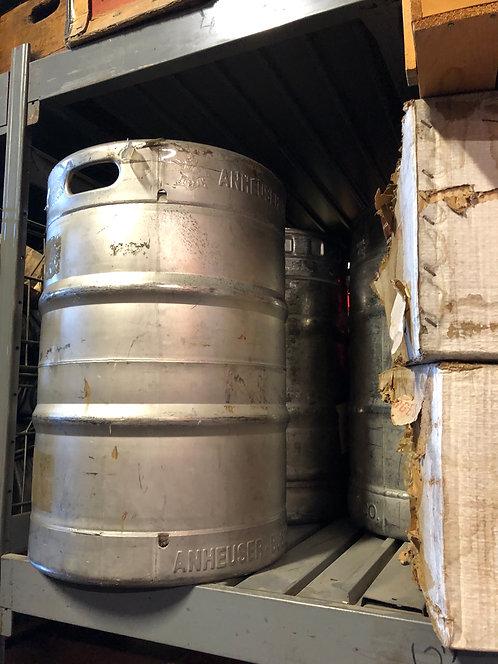 Silver Beer Keg