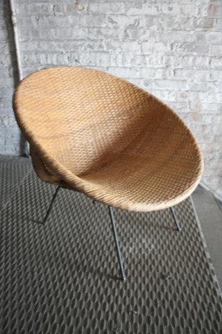 Woven Wicker Rattan Papasan Chair