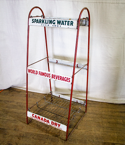 Soda Water Retail Display Rack