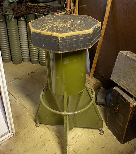Green Bomb Shell Stool