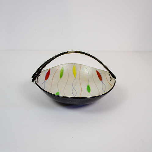 Multicolored Bowl With Handle