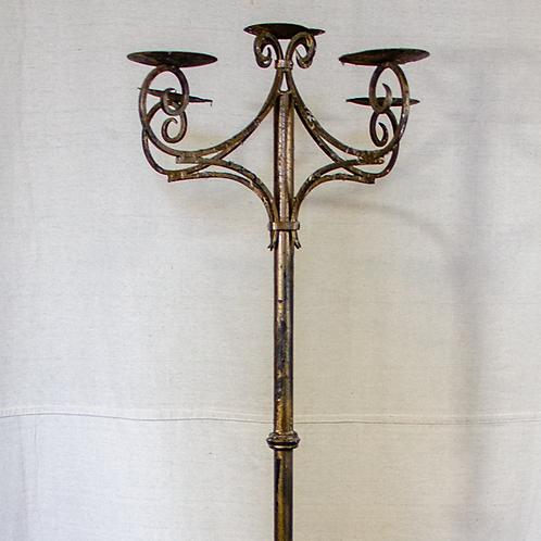 Flat Top Standing Candelabra