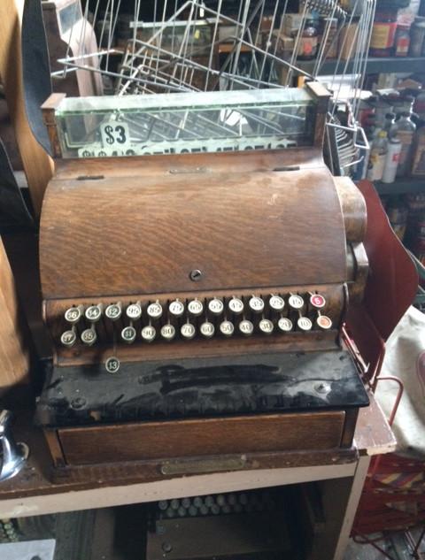 Brown Cash Register