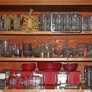 Assortment of diner items