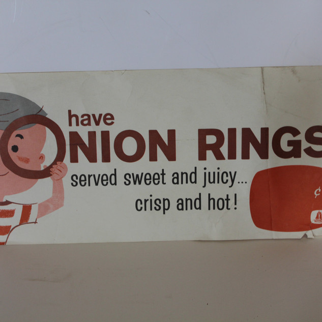 Onion Rings sign