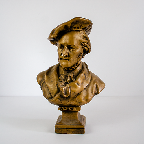 Bronze Bust Richard Wagner