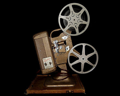 Reel to Reel Film Projector