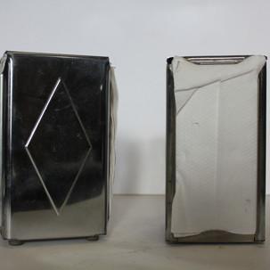 Silver Napkin Dispenser