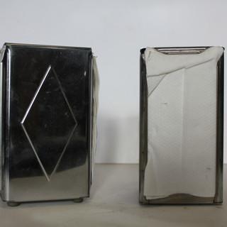 Chrome Diamond napkin dispenser