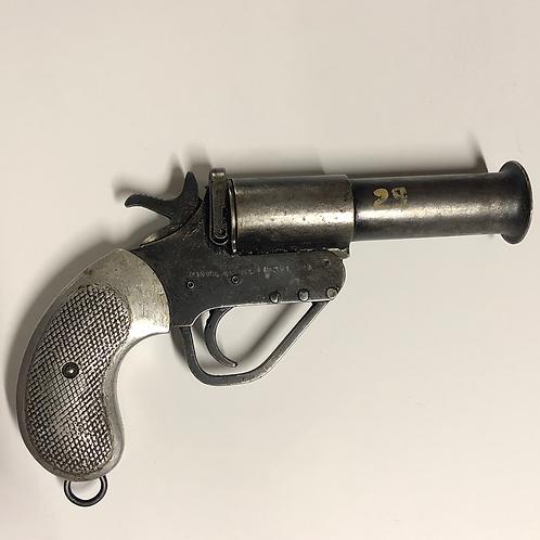 Silver Wide Barrel Pistol