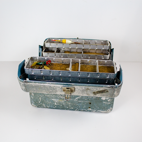 Silver Tackle Box