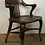 Thumbnail: Wooden Bank Of England Office Arm Chair