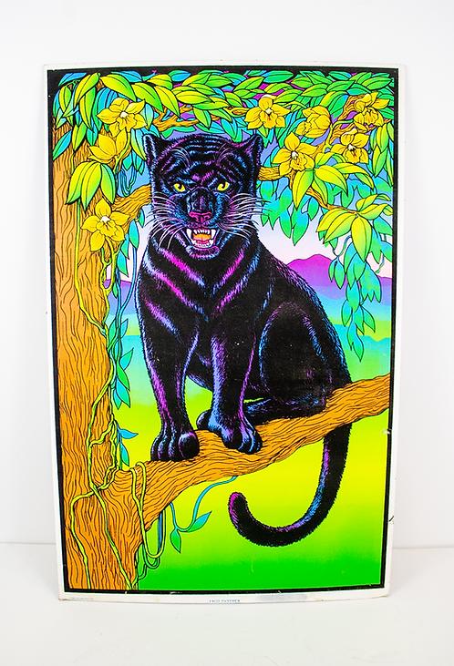 Jaguar Psychedelic Poster