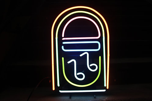 Jukebox Multicolored Neon Sign
