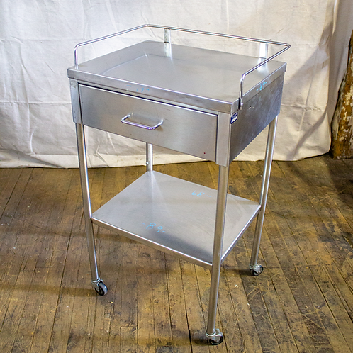 Stainless Steel Medical Treatment Cart