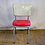 Thumbnail: Red and White Diner Chair