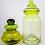 Thumbnail: Green Two-Tone Apothecary Jar