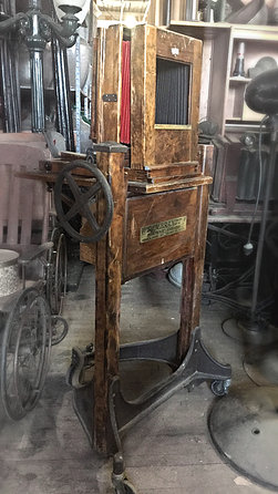 Antique Portrait Camera with Bellows