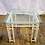 Thumbnail: Square Glass Top Side Table