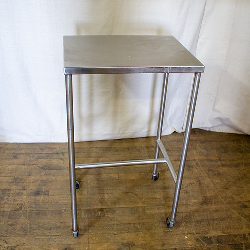 Steel Rolling Utility Table