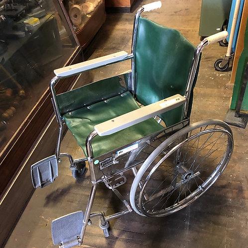 Green Wheel chair