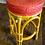 Thumbnail: Pink Tiki Rattan Bar Stools