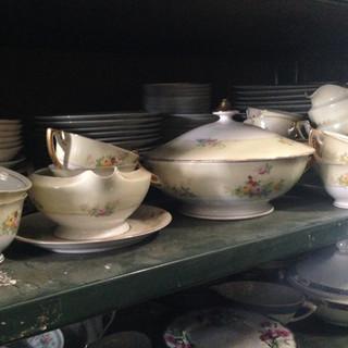 Floral dish set, Serving set, dinnerware