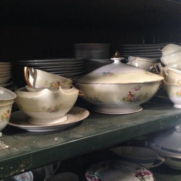 Floral Dish set