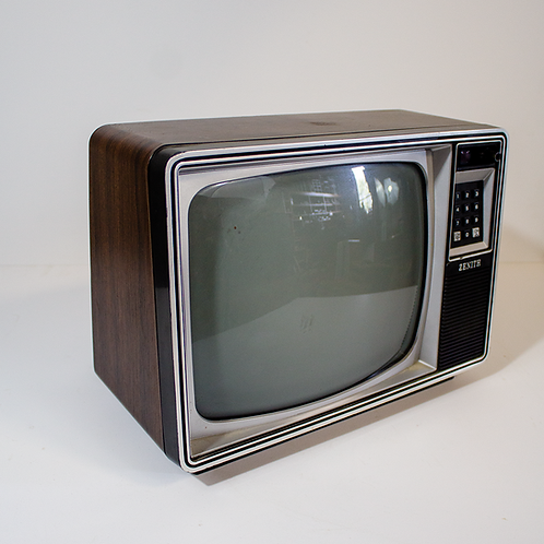 Zenith Wood Paneled TV