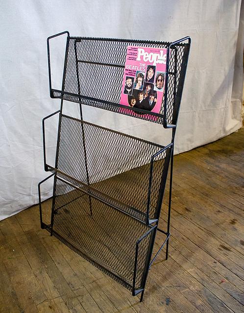 Magazine Rack Store Display