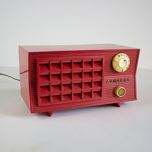 Red Admiral Radio 1950s