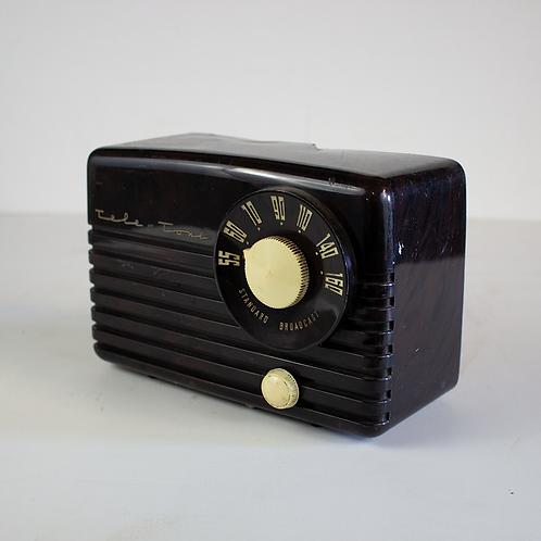 Black Tele-Tone Radio 1950s