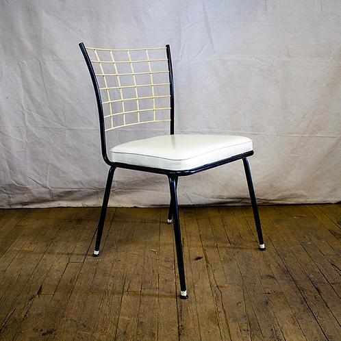 White Grid Chair