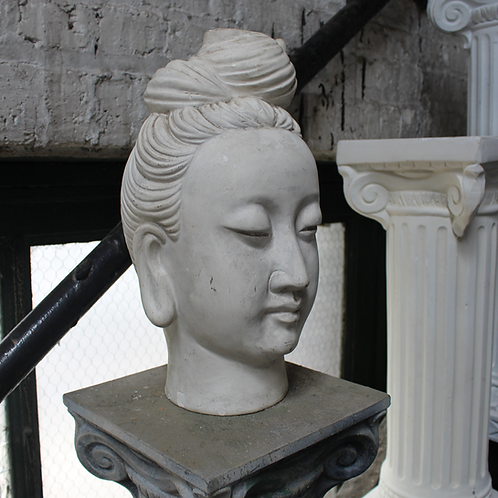Female Statue Head