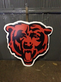 Chicago Bears Logo Cutout