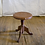 Thumbnail: Light Brown Wooded Stool with paint drips