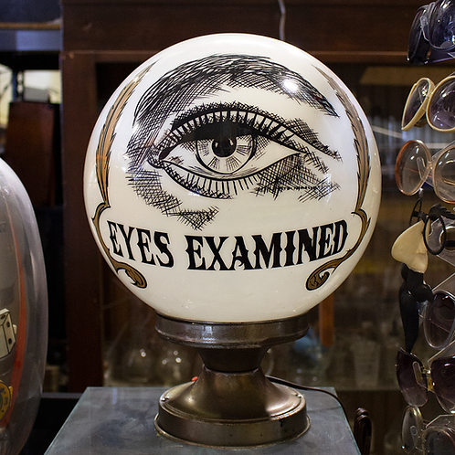 Eyes Examined Optometry Glass Orb Light