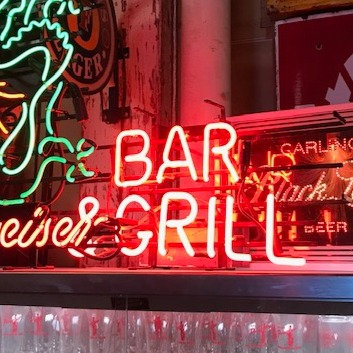 Bar & Grill Neon Sign