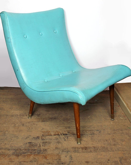 Aqua Blue Chair
