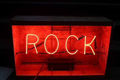 RockRed Neon Sign