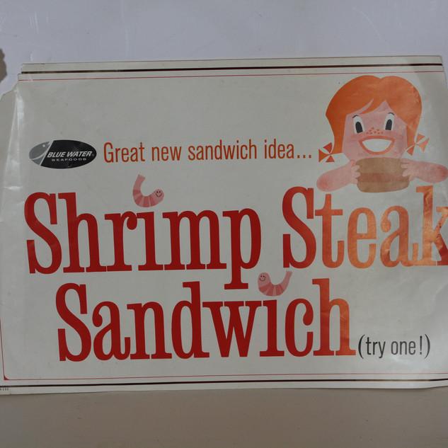 Shrimp Steak Sandwich