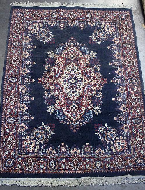 #21 Dark Blue Persian Rug