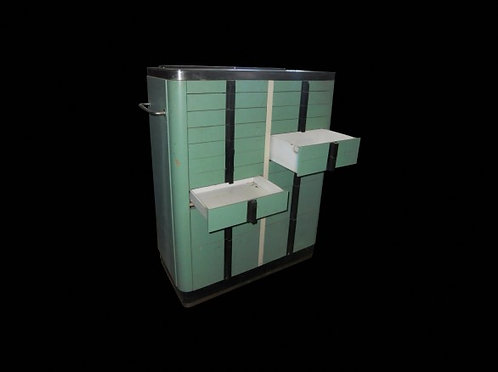 Green Medical Cabinets